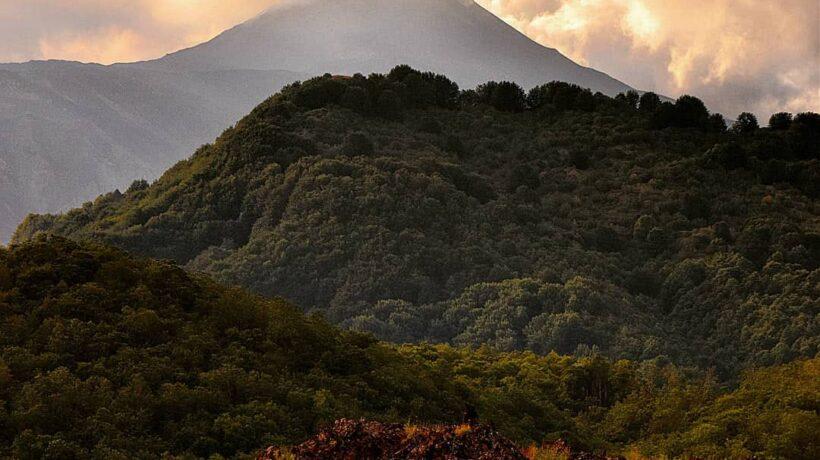 Etna smoke