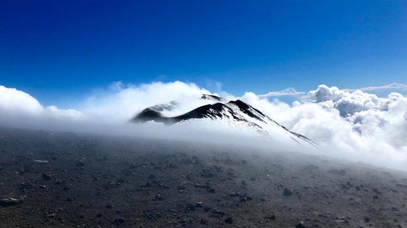 Mt Etna vista sul cratere
