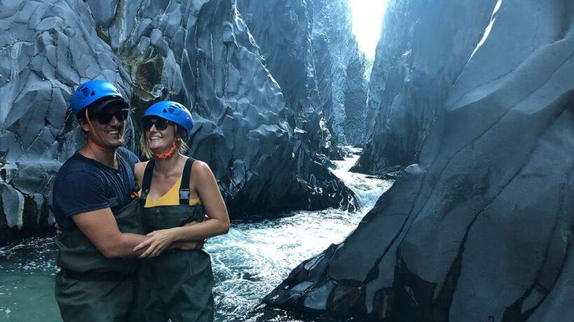 love in The Alcantara canyon