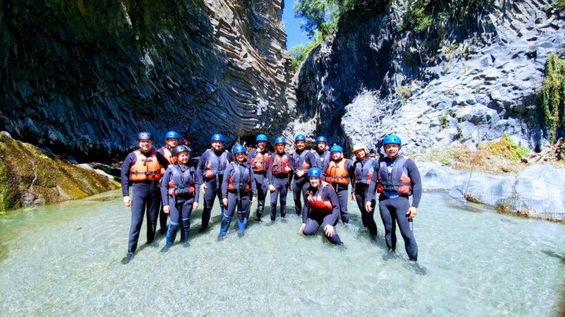 Canyoning Alcantara
